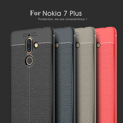 Luxury TPPU Leather Thin Shockproof Case for Nokia 8 Sirocco/9/7 Plus Cover Skin