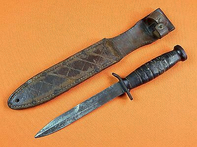 US WWII WW2 M3 Fighting Knife w/ Sheath