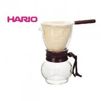 HARIO DPW-3 Nell Drip Coffee Pot Wood Neck Olive Wood 480ml Flannel Filter