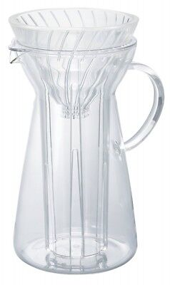 HARIO V60 VIG-02T Glass Ice Coffee Maker Dripper 700ml Clear Heat Resistant