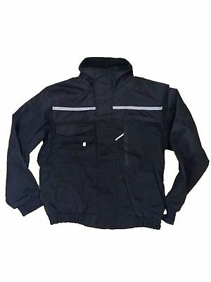Ironman Work Jacket Security Warm Durable Tradesmen Industrial Reflective Coat