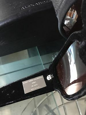 SALE!!!!! Black Velvet Eyeglasses ALEXANDER WANG #linda Farrow Made In Japan