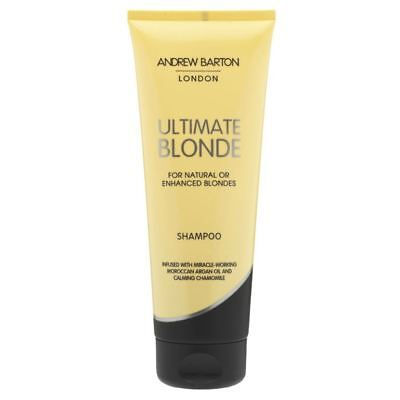 Andrew Barton Ultimate Blonde Shampoo For natural or Enhanced Blondes 250ml