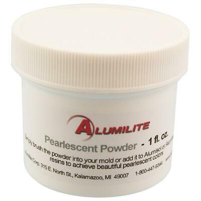 Alumilite PEARLESCENT Powder Molds for Amazing Clear Cast Resin Made in USA