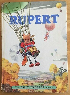 RUPERT ORIGINAL ANNUAL 1957 Inscribed Not Price Clipped Painting done Good Plus