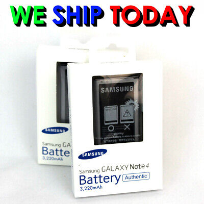 """Brand New"" Original OEM Samsung Galaxy NOTE 4 Battery Samsung Note4 Battery"