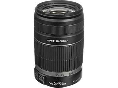 Canon EF-S 55-250mm f/4.0-5.6 IS II Telephoto Zoom Lens (2044B002)