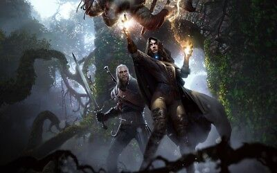 Poster A3 The Witcher 3 Wild Hunt Yennefer de Vengerberg Videogame Videojuego 02