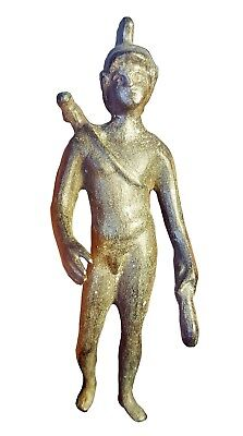 Ancient Roman Bronze Statue Of Apollo - 2Nd-3Rd Century Bc - Museum Quality!!