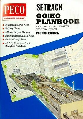 Peco Setrack Model Railway Planbook OO Gauge STP-OO