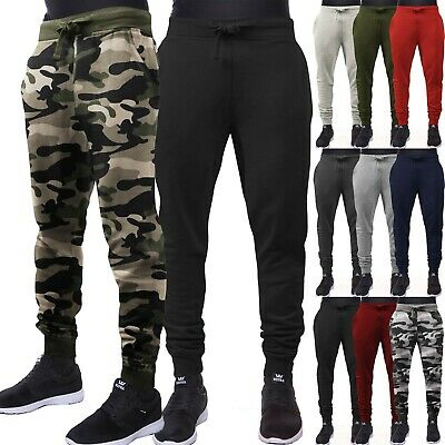 Men's Casual Jogger Pants with Expandable Waist Multiple Joggers