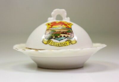Vintage Gemma Crested China Dolgelly Muffin Dish And Cover