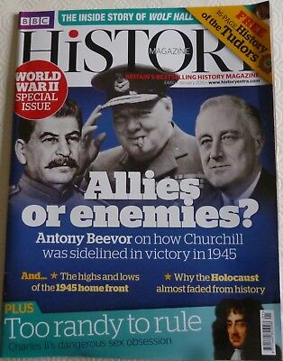 BBC History Magazine-January 2015-Allies Or Enemies