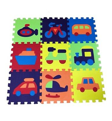 Animals Kids Play Mat Eva Floor Foam Children Toddler Soft Jigsaw Puzzle Mats