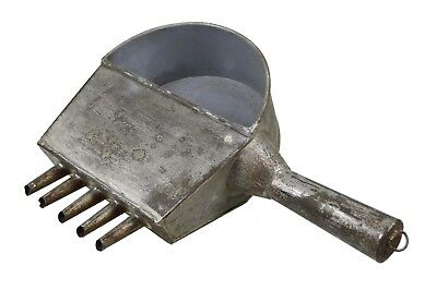 Antique Tin Bakery Chocolate Pouring Tool, Dutch.
