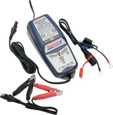 TecMate OptiMate 6 Ampmatic 9step 12V 5A Battery Charger/Tester/Maintainer TM181