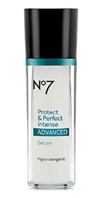 Boots No7 Protect & Perfect Intense Advanced Serum Bottle 1.0 fl oz New Sealed