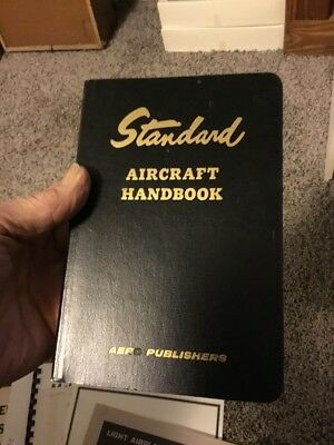 STANDARD AIRCRAFT HANDBOOK 3rd Edition By Larry W. Reithmaier - Tab AERO 1980