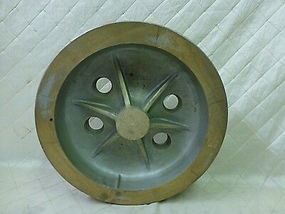 Wood Foundry Mold Piston Wheel Pattern Steampunk Industrial Vintage 15""