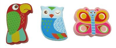 NEW Kaper Kidz Wooden Animal Shaker Mini Maracas from Baby Barn Discounts