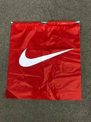 "NIKE Vintage Ad Poly Shopping Bags 20.5"" x 18.5"" Brand New Never Used"