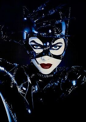 BATMAN RETURNS Movie PHOTO Print POSTER Film 1992 Catwoman Michelle Pfeiffer 001