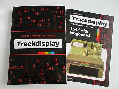 Track Display kit for Commodore 1541 Disk Drive - Soldering Required [F03]