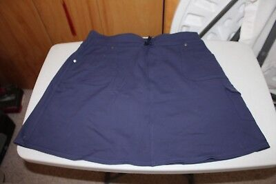 Women's blue Kuhl brand skort size Large in excellent condition.