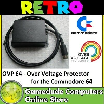 OVP 64 - Over Voltage Protector BOXED VERSION for C-64 Trips @ 5.51v ~ 5.60 [03]