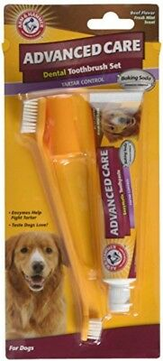 Arm and Hammer Advanced Care Tartar Control Beef Flavoured Toothpaste and Brush