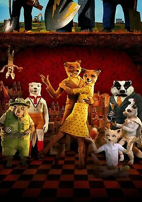 FANTASTIC MR. FOX Movie PHOTO Print POSTER Film Wes Anderson George Clooney 001