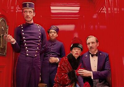 THE GRAND BUDAPEST HOTEL Movie PHOTO Print POSTER Wes Anderson Ralph Fiennes 001