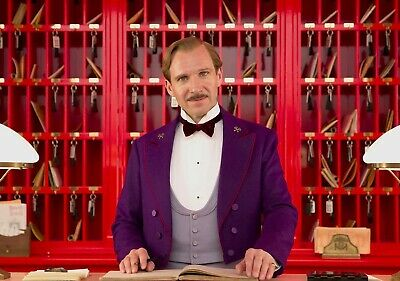 THE GRAND BUDAPEST HOTEL Movie PHOTO Print POSTER Wes Anderson Ralph Fiennes 004