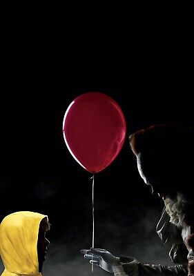 IT Movie PHOTO Print POSTER 2017 Textless Art Pennywise Stephen King Georgie 002