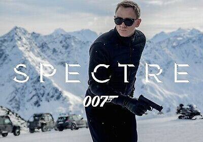 JAMES BOND; SPECTRE Movie PHOTO Print POSTER Film Art 007 Daniel Craig 005