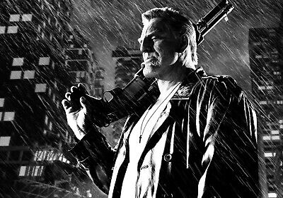 SIN CITY; A DAME TO KILL FOR Movie PHOTO Print POSTER Film Art Mickey Rourke 006