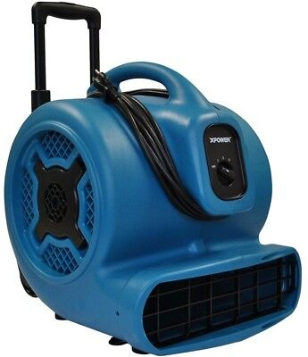 Air Mover 1 HP 3600 CFM High Velocity Floor Carpet Dryer Blower Fan Commercial