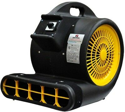 Air Mover High Velocity 1 HP 3 Speed 4000 CFM Carpet Floor Dryer Blower Fan Tool
