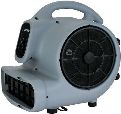Air Mover 1/2 HP 3 Speed High Velocity Commercial Carpet Floor Dryer Blower Fan