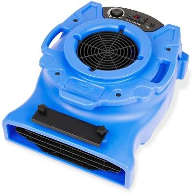 Air Mover Carpet Dryer Floor Blower Fan Low Profile Water Damage Restoration New