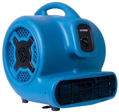 Air Mover Commercial Home Carpet Dryer Floor Fan Blower 1HP 3600 CFM 3 Speed New