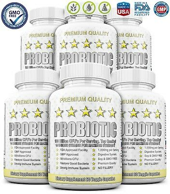 6X ULTRA PROBIOTIC 50-100 Billion CFUs RAW WHOLE ULTIMATE FLORA PRIMAL KEY RENEW