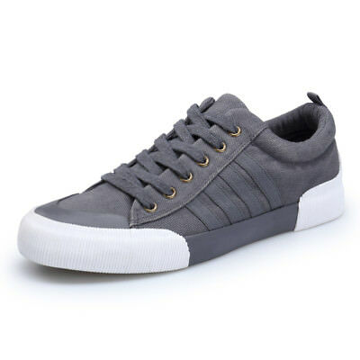 Men's Canvas Shoes Brand Summer Casual Sport Shoes Fashion Sneakers Lace-Up
