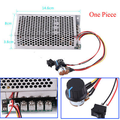 Compact Soft Start Reversible DC Motor Speed Controller 10-50V 100A 5000W Good
