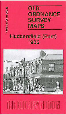 OLD ORDNANCE SURVEY MAP Huddersfield (East) 1905: Yorkshire Sheet 246.16