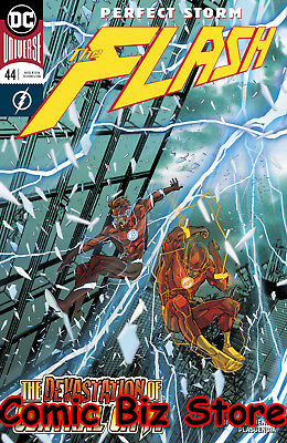Flash #44 (2018) 1St Printing Dc Universe Rebirth Bagged & Boarded