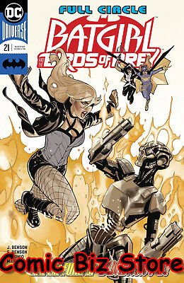 Batgirl And The Birds Of Prey #21 (2018) 1St Printing Dc Universe Rebirth