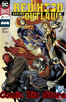 Red Hood And The Outlaws #21 (2018) 1St Printing Variant Cvr Dc Universe Rebirth