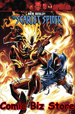 Ben Reilly Scarlet Spider #17 (2018) 1St Printing Bagged & Boarded Legacy Tie-In