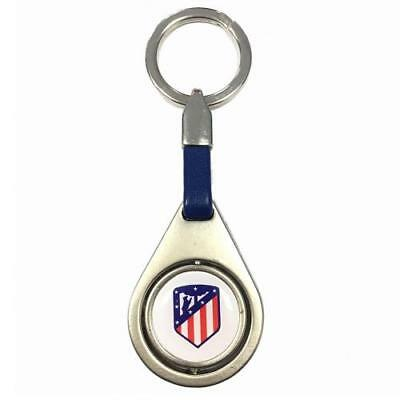 Atletico Madrid FC Spinner Keyring BL Football Club Fan Player Supporter PRESENT